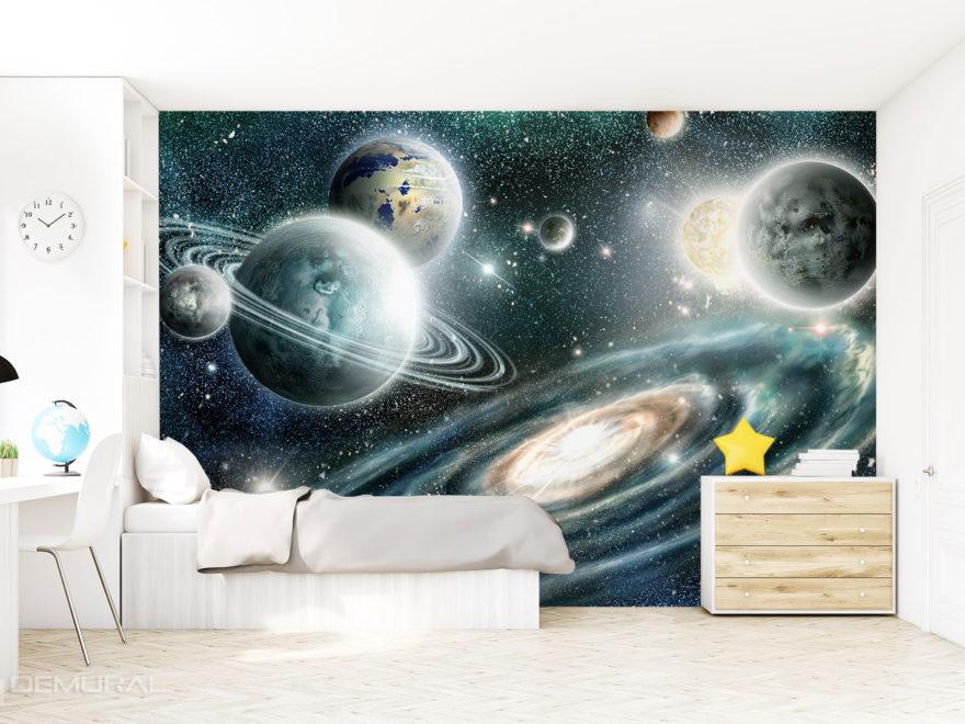 Fototapeta kosmos - Demural